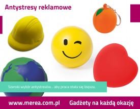 Antystresy reklamowe z logo