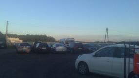 Strzeżony parking przy lotnisku
