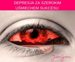 Depresja za szerokim uśmiechem sukcesu?