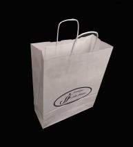 torby papierowe z nadrukiem ze  skręcanym uchem