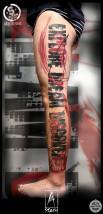 Tatuaż Trash Polka