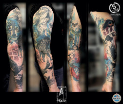 Tatuaż abstrakcyjny