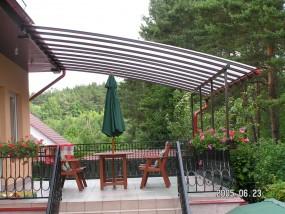 Zabudowa balkonów,tarasów,zadaszenia,balustrady
