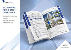 Reklama graficzna 1 str firmy/projektu/usługi